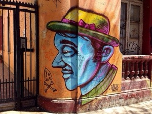 street-art, Santiago in Chile