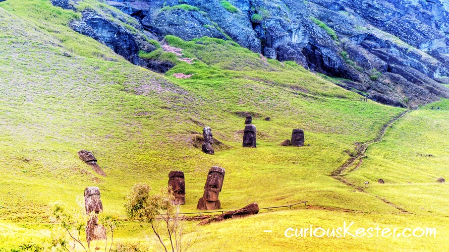 Easter Island in wheelchair