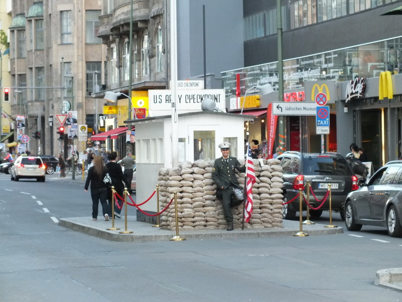 The Wall - Checkpoint Charlie
