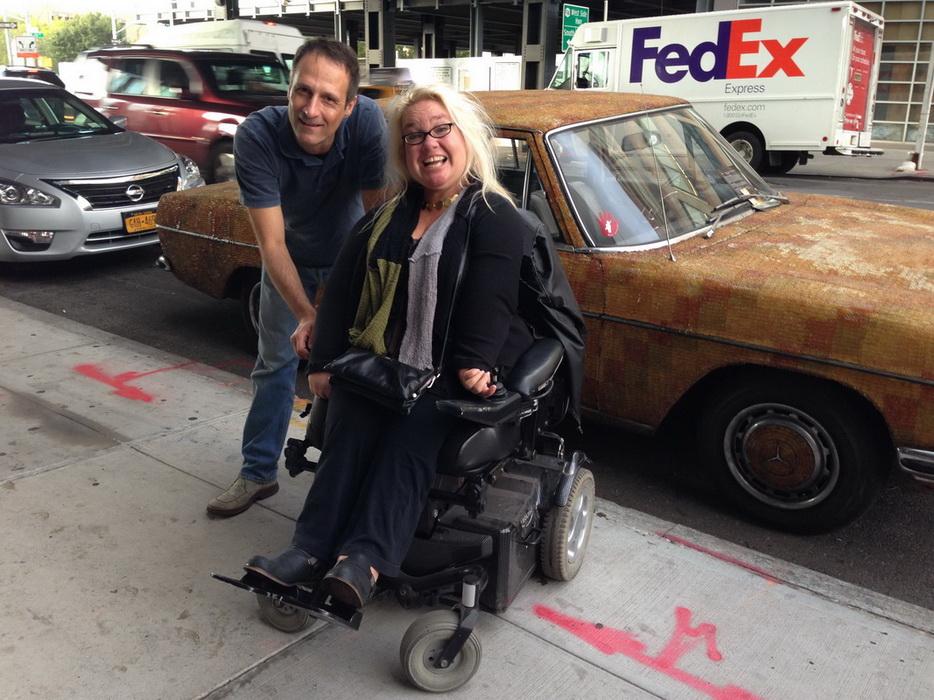 Gems in NYC - gummy-bear car