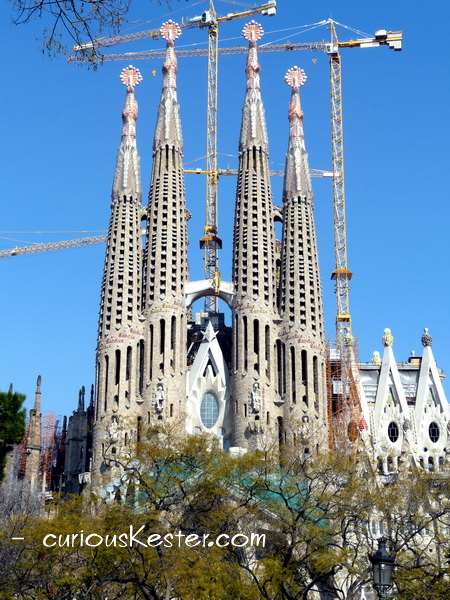 From my first visit to Temple de La Sagrada Familia