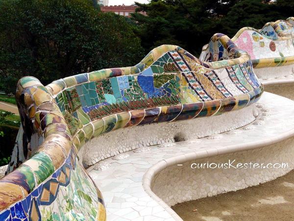 Park Güell bench