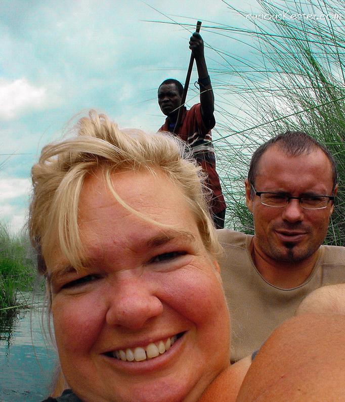 Okavango Delta recognized as World Heritage. Maun, Botswana