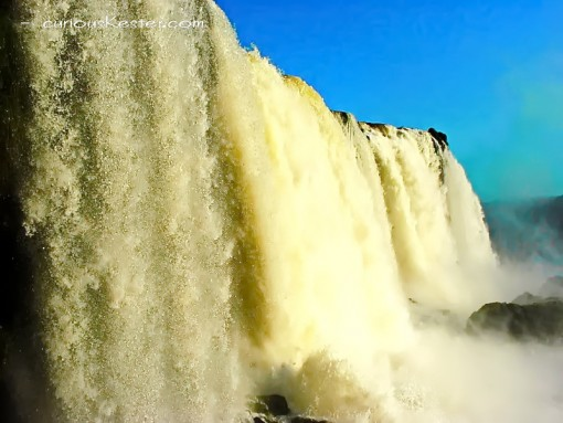 Iguazú Falls worlds most beautiful waterfall - from Brazilian side