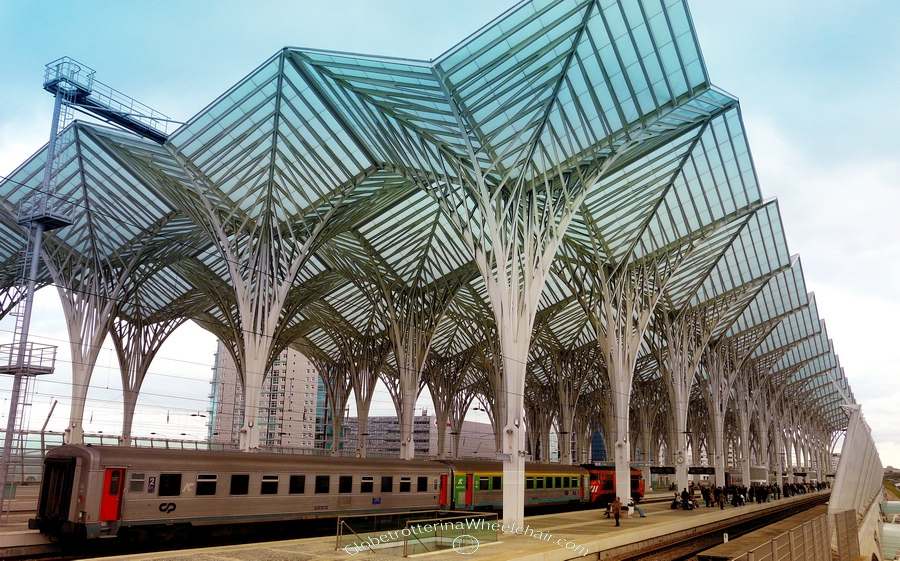 Calatrava at Gare do Oriente, Lisbon