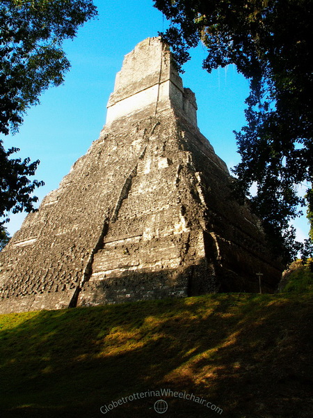 Tikal in Guatemala in Central America