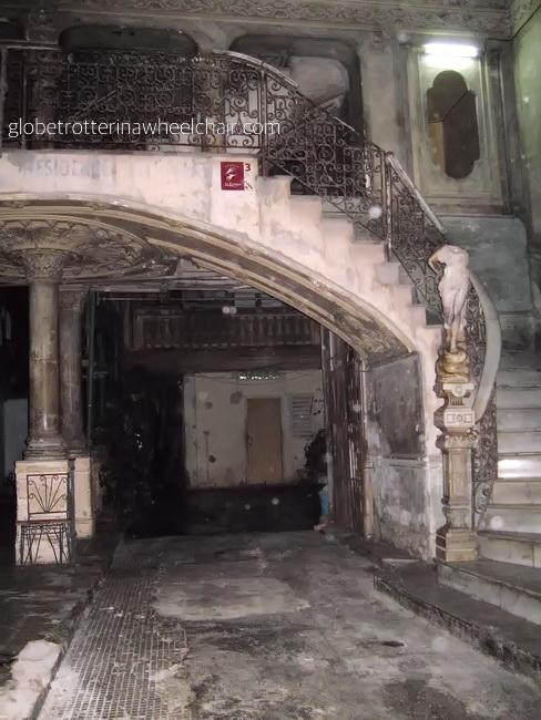 a beautiful corridor Havana