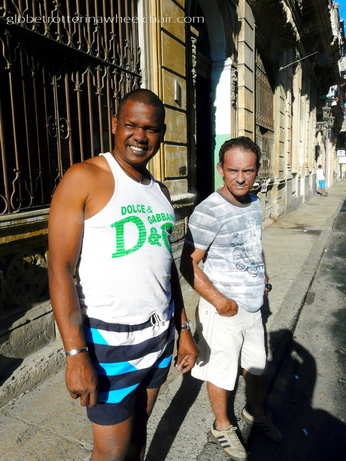 Wiliam og Augustine our friends in Havana