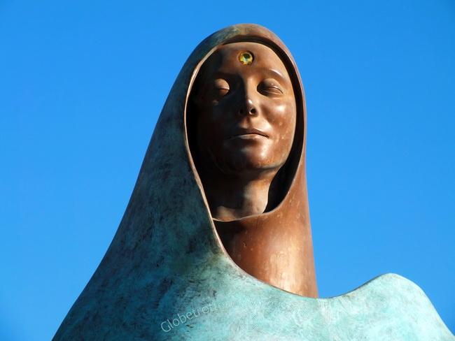 sculpture in La Paz, Mexico