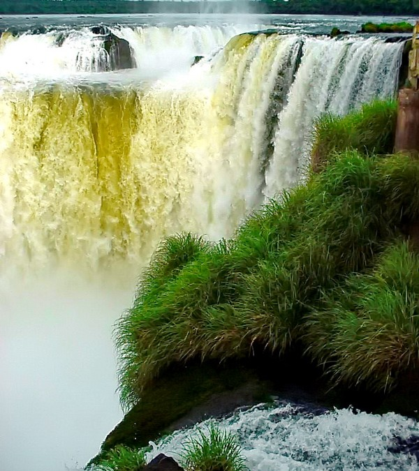 Iguazú Falls worlds most beautiful waterfall - from Argentinian side