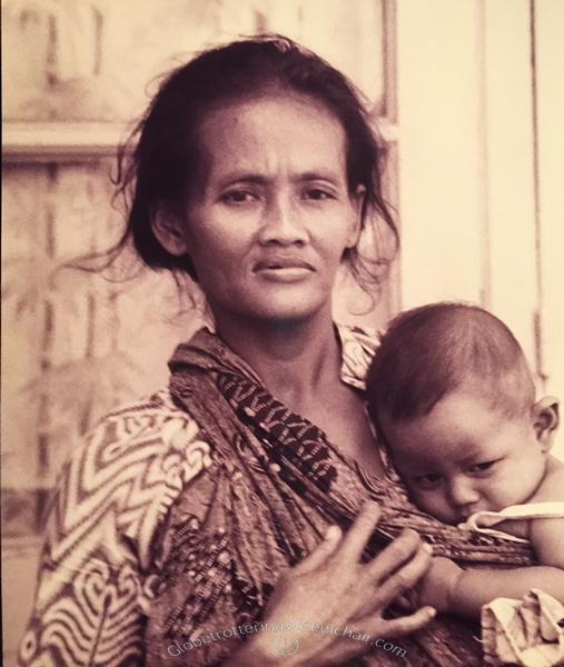 Woman and child from Indonesia