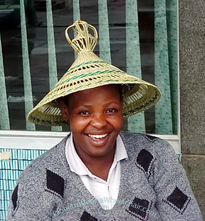 Woman from Lesotho
